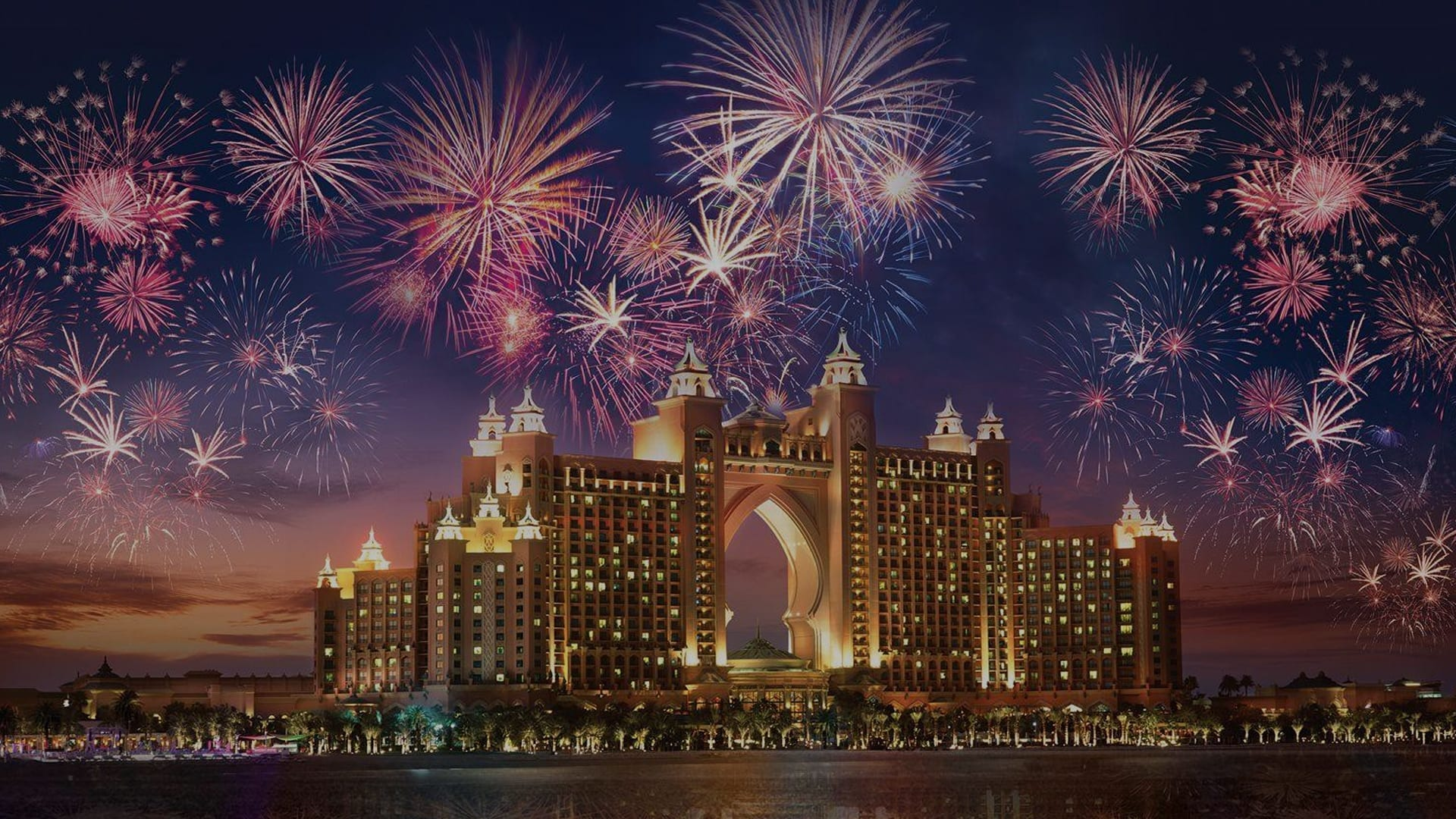 Where to see new year's fireworks in DXB 2019-2020?