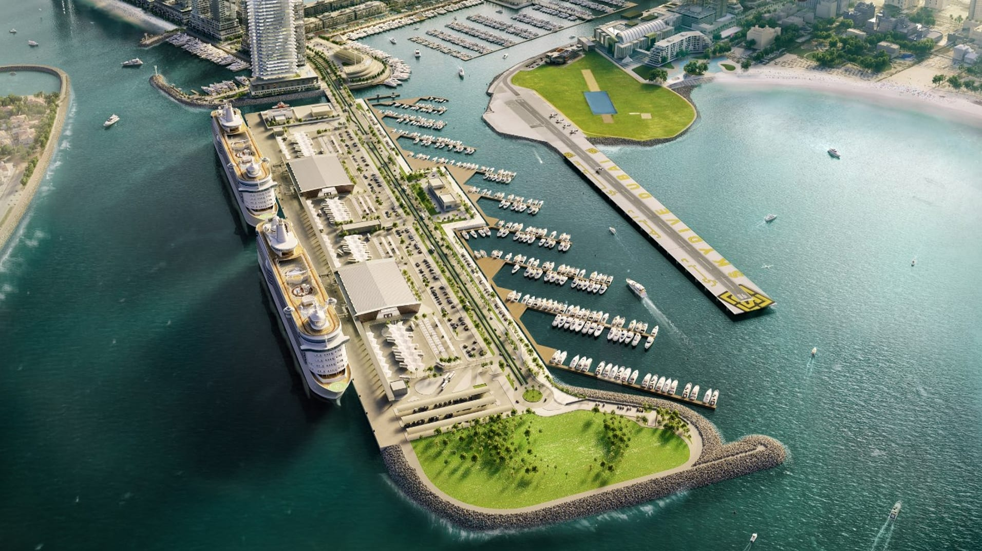 Another residential port community is going to be built in Dubai.