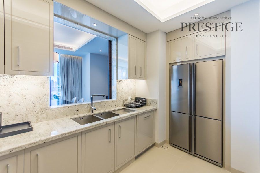 The Address Sky View Towers - Downtown Dubai Apartment for Rent-Prestige Real Estate